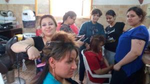 women's hairdressing