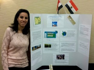 Nermine was selected to present her development model at the Professional Fellows Congress in Washington, D.C.