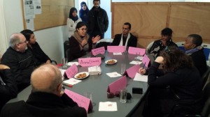 Tunisian fellows had the opportunity to discuss their work with their American counterparts.